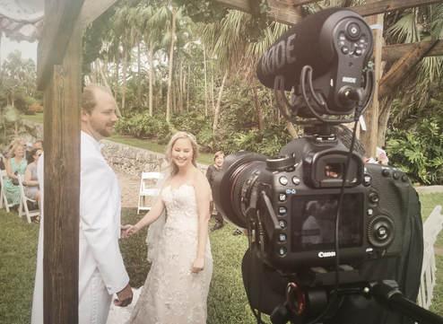 BTS Filming Wedding