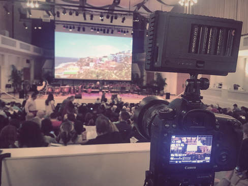 BTS Filming Music Festival