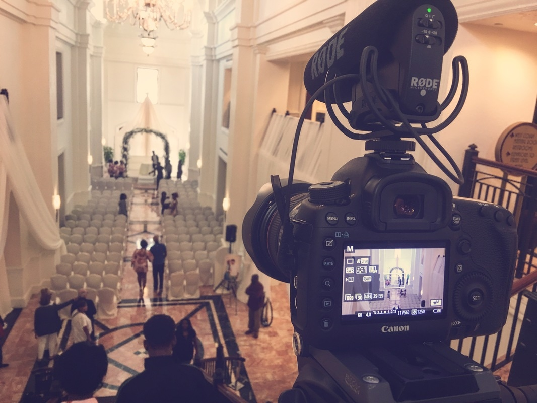 BTS Wedding Film at Hotel Colonnade