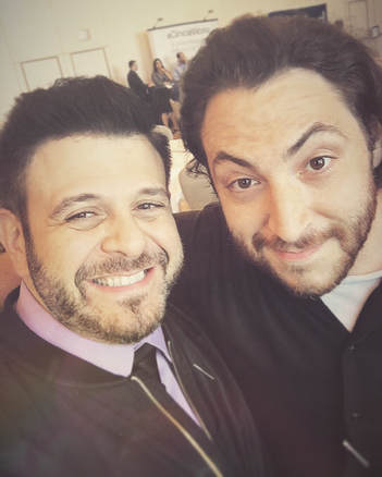 BTS Filming With Adam Richman